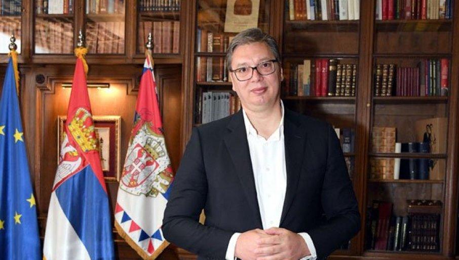 VAŽNI SASTANCI: Predsednik Vučić će se sutra sastati sa ambasadorima Ujedinjenog kraljevstva i Alžira i generalnom sekretarkom OEBS-a