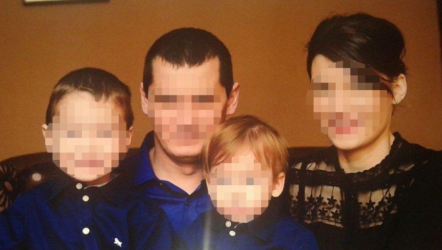 ТРАГЕДИЈА ПЕТОЧЛАНЕ ПОРОДИЦЕ: Ово су Никола (8) и Наталија (1), који су страдали у тешкој несрећи