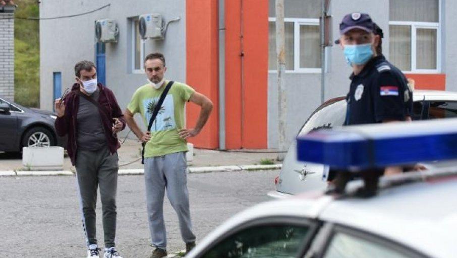 NAPADNUTI DOKTOR: Pričao sam sa Čedinim vozačem, kada je Jovanović bez razloga počeo da me udara reketom po telu
