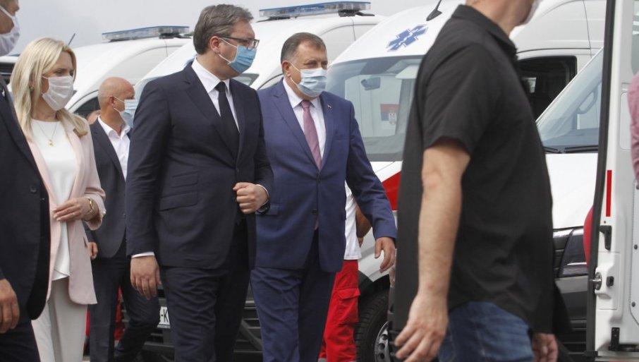 Milorad Dodik-republika srpska-aleksandar vucic-srbija-crni bombarder