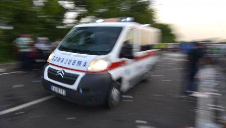 STRAŠAN SUDAR KOD MAKIŠA: Smrskana vozila, saobraćaj u haosu!