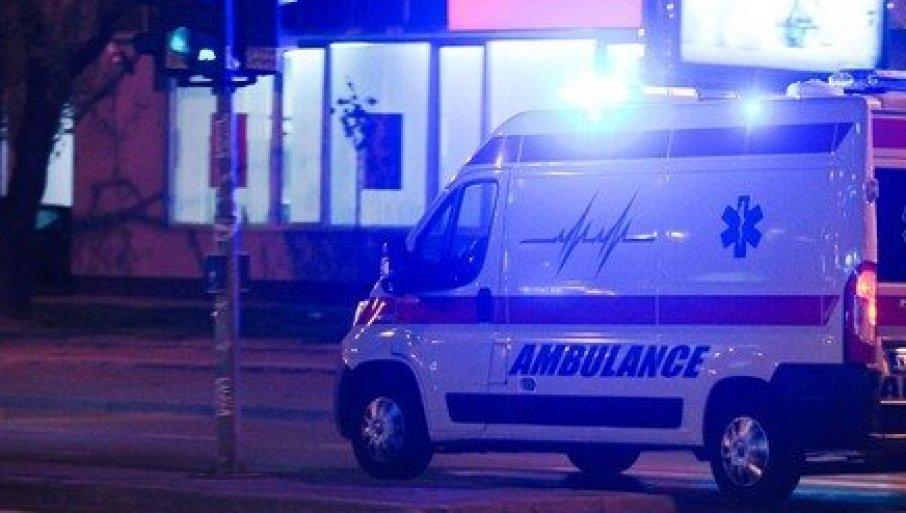 TUČA U CENTRU NIŠA: Žena prebačena u Urgentni centar, muškarac je šutnuo u glavu