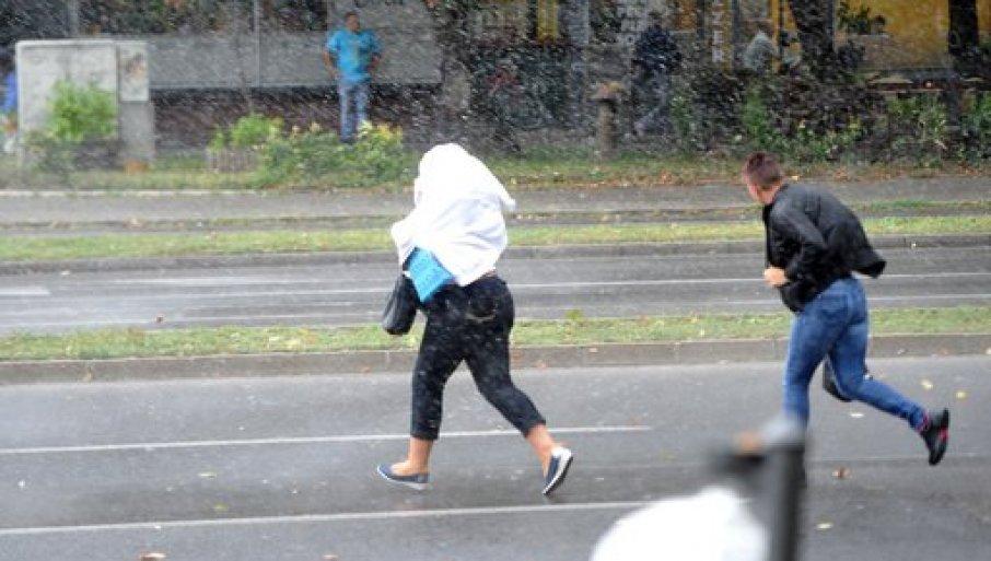 RHMZ SAOPŠTIO: U Srbiji danas naoblačenje sa kišom, na planinama će padati sneg