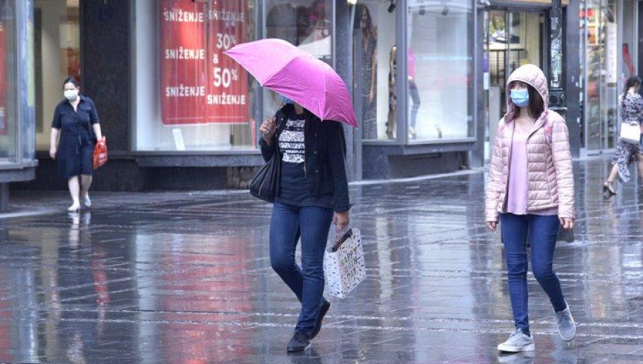 RHMZ IZDAO UPOZORENJE: U narednim satima nigde ne krećite bez košobrana - u nekim delovima zemlje pašće i sneg!