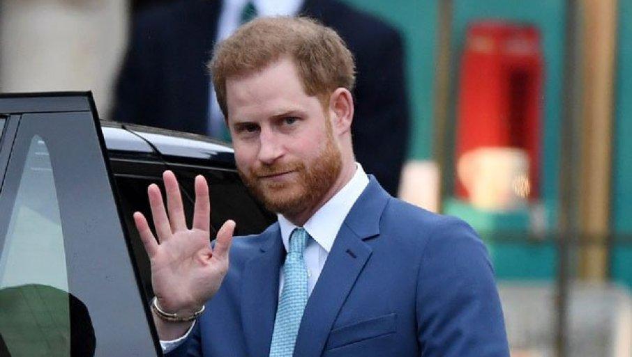 HARI STIGAO KUĆI BEZ MEGAN: Hoće li se porodica ujediniti na sahrani princa Filipa