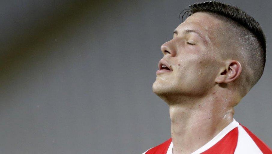 BAŠ GA NEĆE: Luka Jović bi mogao da bude starter protiv Barselone, ali...