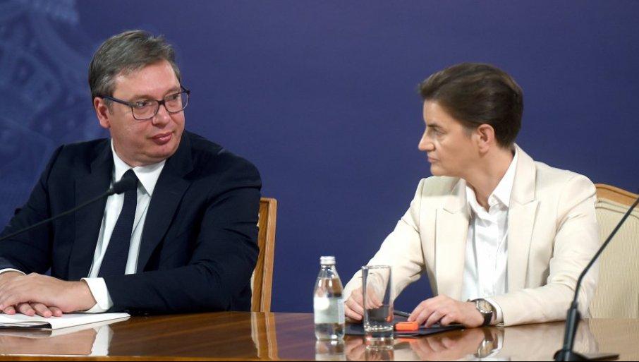 VAŽNI SASTANCI ZA SRBIJU: Vučić putuje u Prag, premijerka Brnabić u Brisel