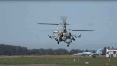 ŠTA MOŽE RUSKI HELIKOPTER KA 52 ALIGATOR: Dobija rakete dometa do 100 km (VIDEO)