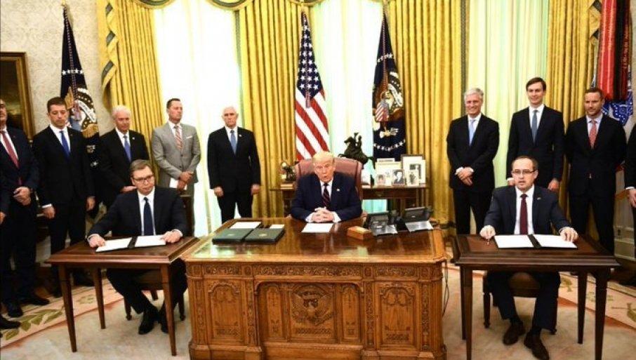 ШТА СВЕ САДРЖИ ИСТОРИЈСКИ ДОКУМЕНТ ИЗ ВАШИНГТОНА: Ово су кључне тачке потписаног споразума