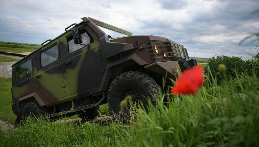 NOVO TERENSKO VOZILO ZA VS PROŠLO SVE TESTOVE: Spremno za isporuku u jedinice