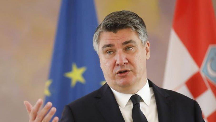 HRVATSKA BLOKIRA PUT SRBIJE U EU: Milanović najavio uslov koji će Zagreb postaviti