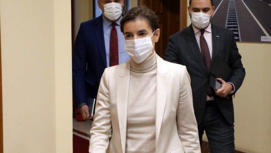 ANA BRNABIĆ APELUJE: Apsolutna kontrola je moguća kada imate jednog inspektora na jednog stanovnika, molim sve ljude da nose maske
