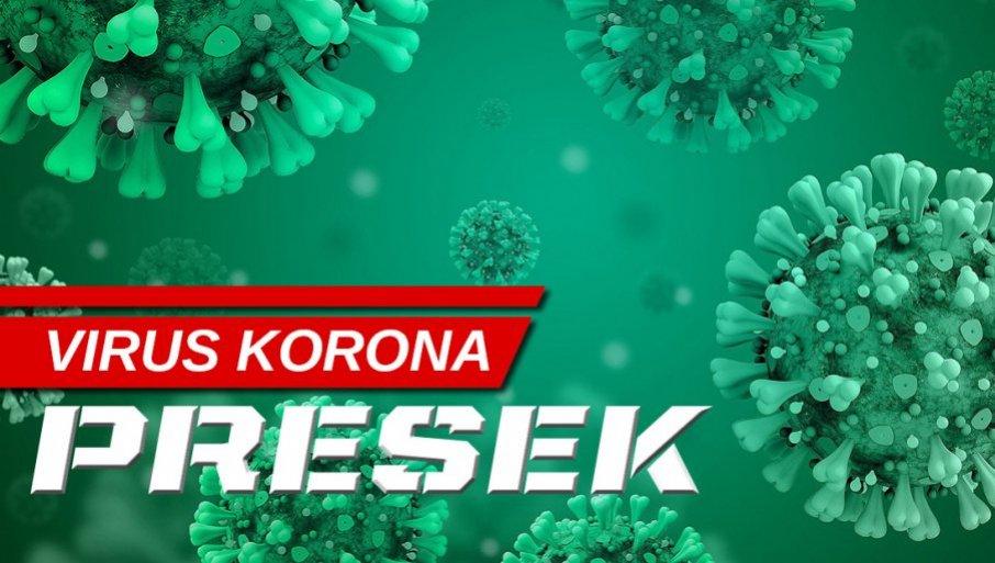 KORONA PRESEK PO GRADOVIMA: Najviše zaraženih u ovim mestima u Srbiji