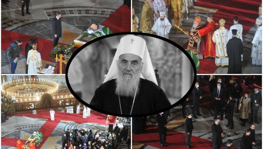 (УЖИВО) САХРАНА ПАТРИЈАРХА ИРИНЕЈА Беседа епископа бачког Иринеја: Он није умро, он спава (ФОТО/ВИДЕО)