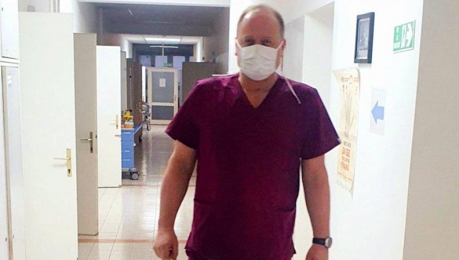 FOTOGRAFIJA ZA PONOS: Doktor iz beogradskog porodilišta objavom raznežio sve