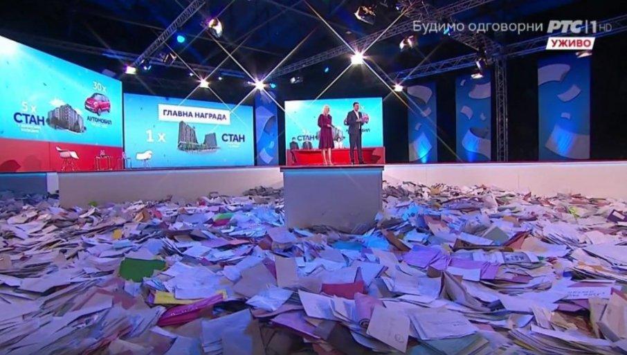 ВАЖНА ИНФОРМАЦИЈА ЗА ГРАЂАНЕ КОЈИ СУ СЛАЛИ РАЧУНЕ: Ево шта ће бити са ковертама које нису извучене вечерас