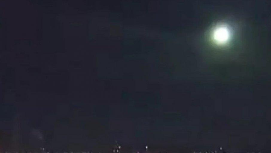ČULA SE TUTNjAVA, NEBO JE POSTALO SVETLO: Vatrena kugla primećena na nebu iznad Japana (VIDEO)