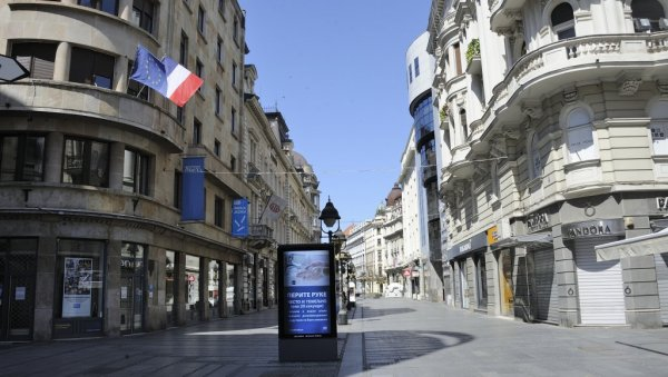 OBIJENA BANKA IN THE CENTER OF BELGRADE: Everything happened in front of the police - and the reason will surprise you!