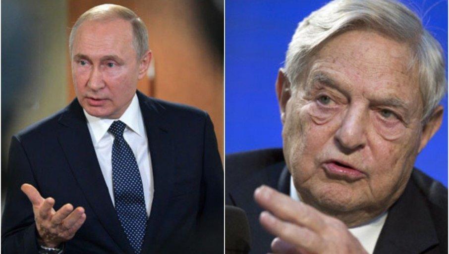 ПУТИН УДАРИО НА СОРОША: Руске власти пооштравају кампању против НВО које милијардер финансира - тврде да подривају државу