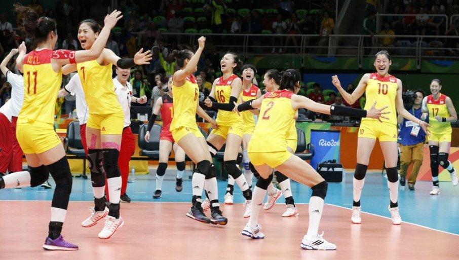 KINESKINJE BRANE ZLATO: Olimpijske pobednice u odbojci