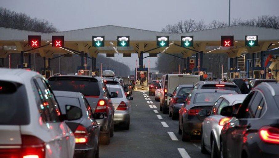 GUŽVE SE NE SMANJUJU: Evo na kojim graničnim prelazima se najduže čeka