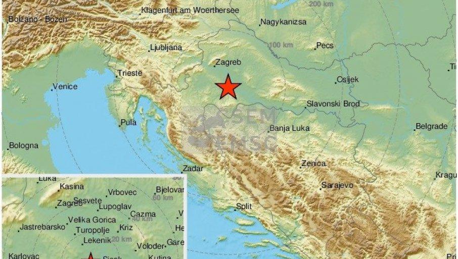 Novi Zemljotres U Zagrebu Poslednji Potres Se Osetio Pre 10 Minuta Novosti Rs