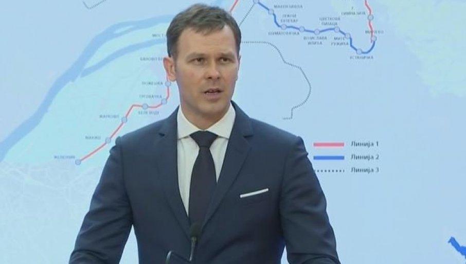 VELIKI DAN ZA SRBIJU! MALI POTPISAO MEMORANDUM: Izgradnja prve linije beogradskog metroa počinje krajem godine