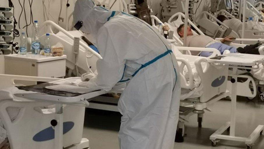 """HEROJSKA BITKA MEDICINARA I PACIJENATA: Reporteri """"Novosti"""" prvi u """"crvenoj zoni"""" nove kovid-bolnice u Kruševcu (FOTO/VIDEO)"""
