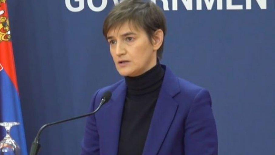 SVIM SRCEM SAM UZ VUČIĆA: Premijerka Brnabić pred nastavak dijaloga - Predsednik ima nemoguć zadatak i veliku odgovornost