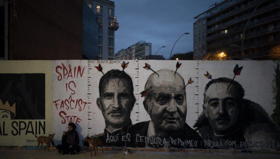 U Madridu i Barceloni počeli neredi na ulicama zbog hapšenja repera koji je zazivao ukidanje monarhije i vješanje kralja 68184_tan2021-2-21-193041259-0_f