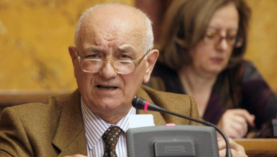 PREMINUO POSLANIK U SKUPŠTINI SRBIJE: Đuro Perić izgubio bitku sa korona virusom
