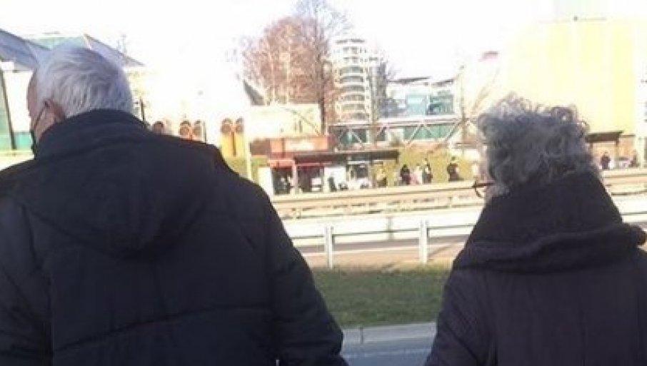OVO JE FOTOGRAFIJA DANA: Pogledajte prizor koji je raznežio Beograđane (FOTO)