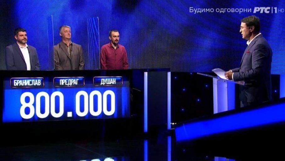 """BRILJIRALI U """"POTERI"""" I OSVOJILI 800.000 DINARA: Pobedili su čak i Milicu, jedan takmičar se posebno izdvojio"""