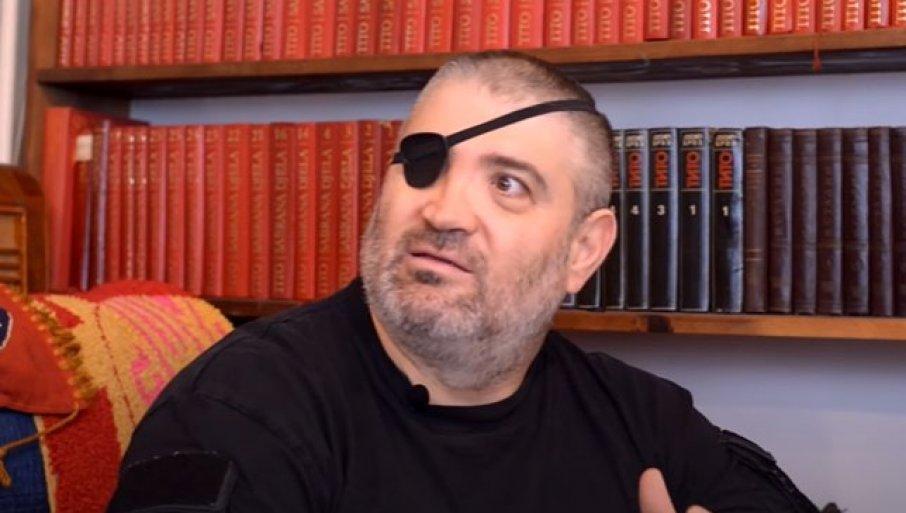 ČUVENI RUSKI DOBROVOLJAC U KRITIČNOM STANJU: Albert je na Kosovu izgubio oko, bori se za život u kovid bolnici u Batajnici