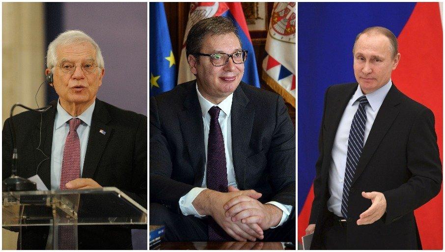 НОВОСТИ САЗНАЈУ: Вучић одбио ЕУ, не уводи санкције Русији - Београд се одупро притиску Брисела