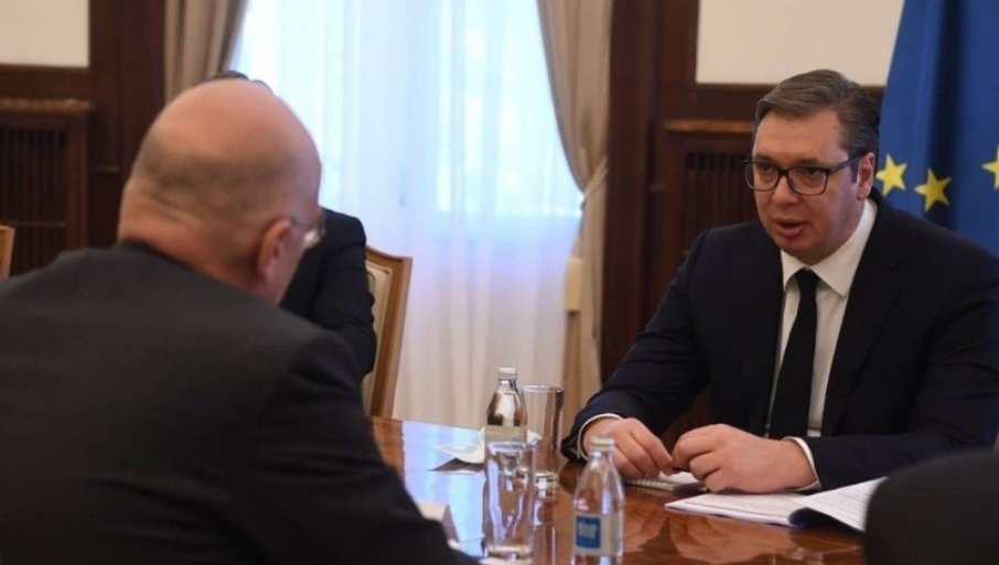VAŽAN SASTANAK: Vučić danas razgovara sa predstavnicima delegacije MMF