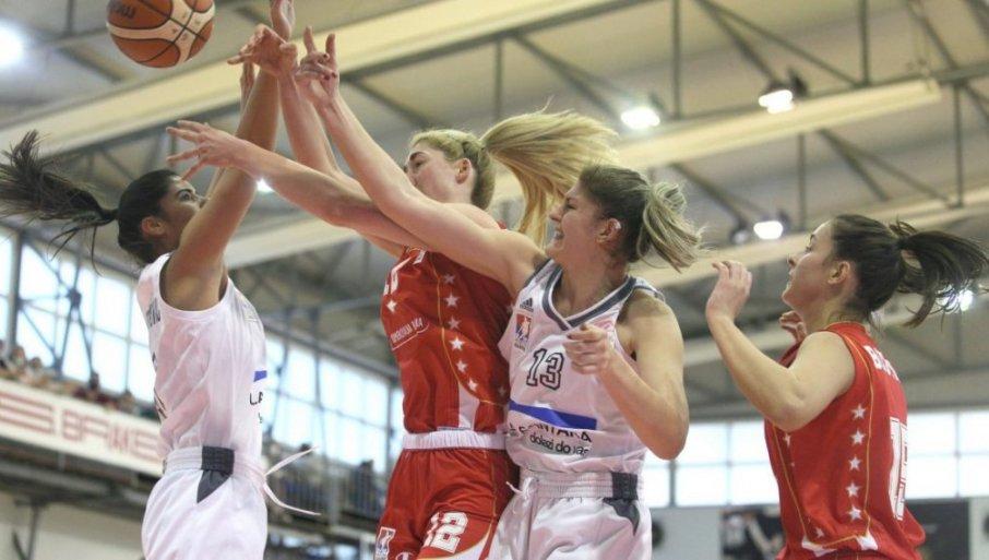 DRUGI PORAZ U EVROKUPU: Crveno-bele košarkašice doživele novi neuspeh