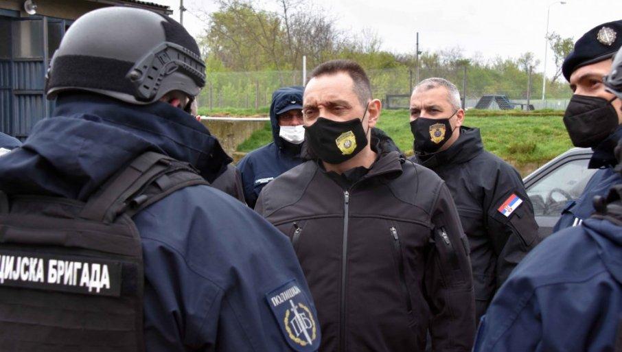 """VRLO DOBRO!"" Ministar Vulin čestitao uspešno realizovanu združenu vežbu ""Odgovor2021"""