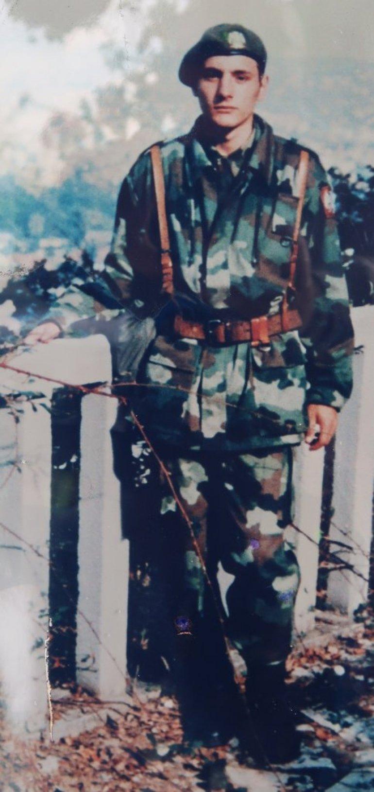 Лазаревац: Саша на вечној стражи - Откривен мурал војнику из Вреоца, настрадалом на Кошарама