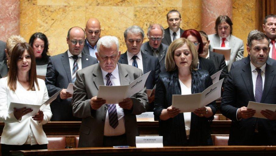 USTAV SE MENJA, PREAMBULA NE: Narodna skupština usvojila predlog Vlade o promeni najvišeg pravnog akta