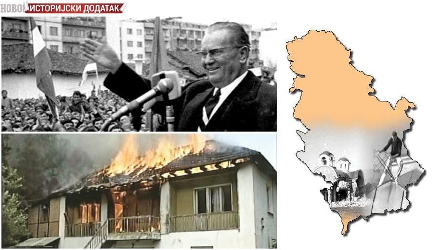 ISTORIJSKI DODATAK - PARTIJA KRILA ISTINU O KOSMETU: Kako je počeo proces izdvajanja južne pokrajine iz Srbije i Jugoslavije