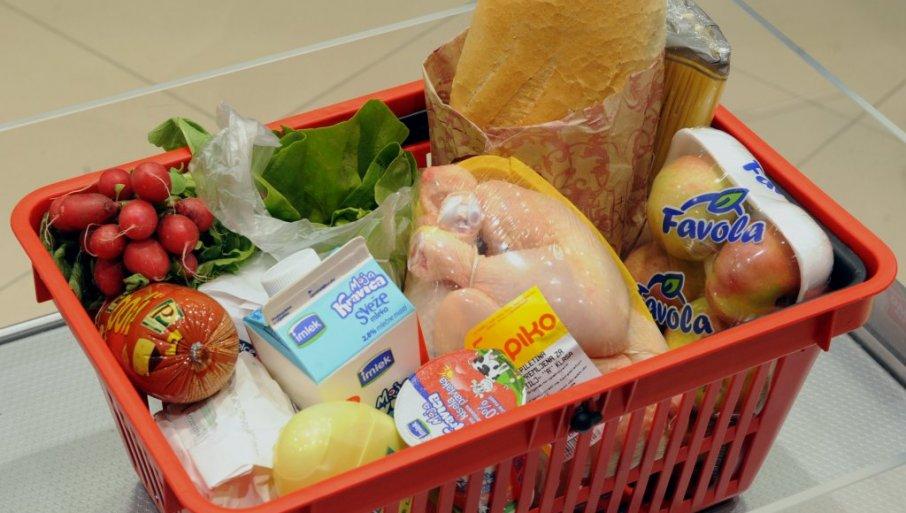 SAMO ŠEĆER JEFTINIJI: Poređenje po proizvodima - prosečna potrošačka korpa poslednjih 10 godina poskupela čak 86 odsto
