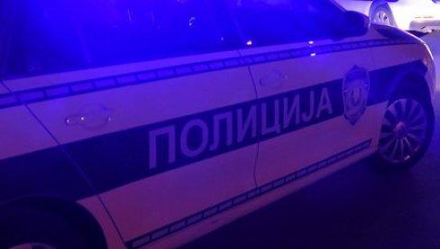 SAOBRAĆAJNA NESREĆA KOD ZMAJA: Od siline udara automobil završio u kontra smeru, policija na licu mesta!