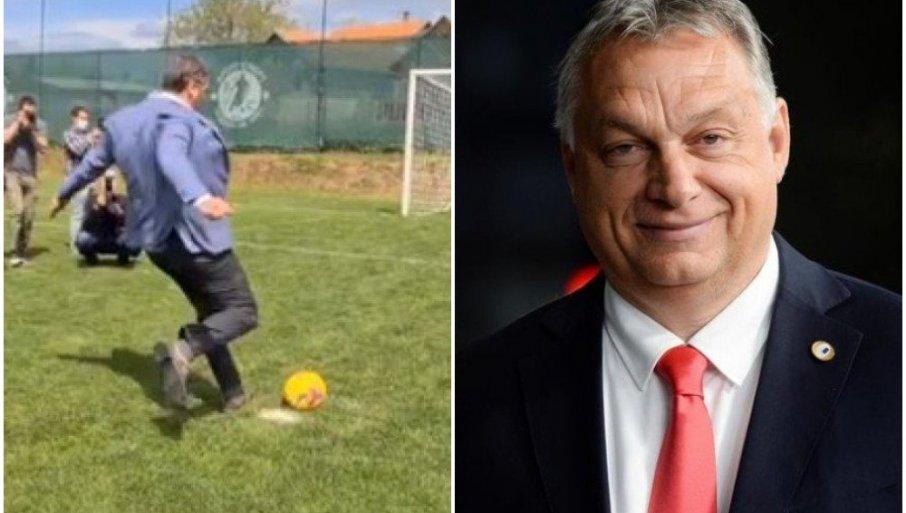 ORBAN KOMENTARISAO VUČIĆEV GOL: Pogledajte šta je mađarski premijer poručio srpskom predsedniku (FOTO/VIDEO)