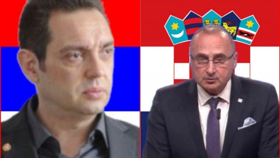 VULIN ODGOVORIO HRVATSKOM MINISTRU: Bolje da ne uđemo u EU, ako je uslov lečenje vaših kompleksa