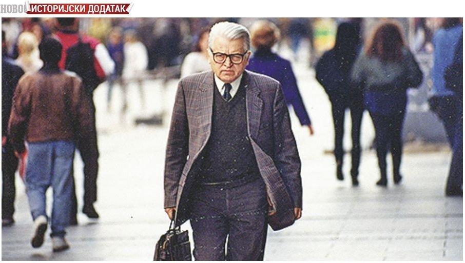 """ISTORIJSKI DODATAK - HEGEMON JE BIO POLITBIRO PARTIJE: Dobrica Ćosić o razgovoru sa ljudima iz """"Mraka"""" u LJubljani"""