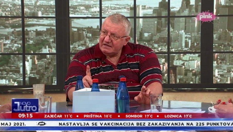 ŠTO ME MALTRETIRAŠ JUTROS U EMISIJI?! Šešelj žestoko reagovao i otkrio veliku tajnu srpke politike!