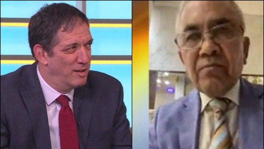 """ŽESTOK SUKOB NA TV PRVA: Izraelski i palestinski ambasador u """"klinču"""" - Pitajte ga gde mu je rođen otac!"""