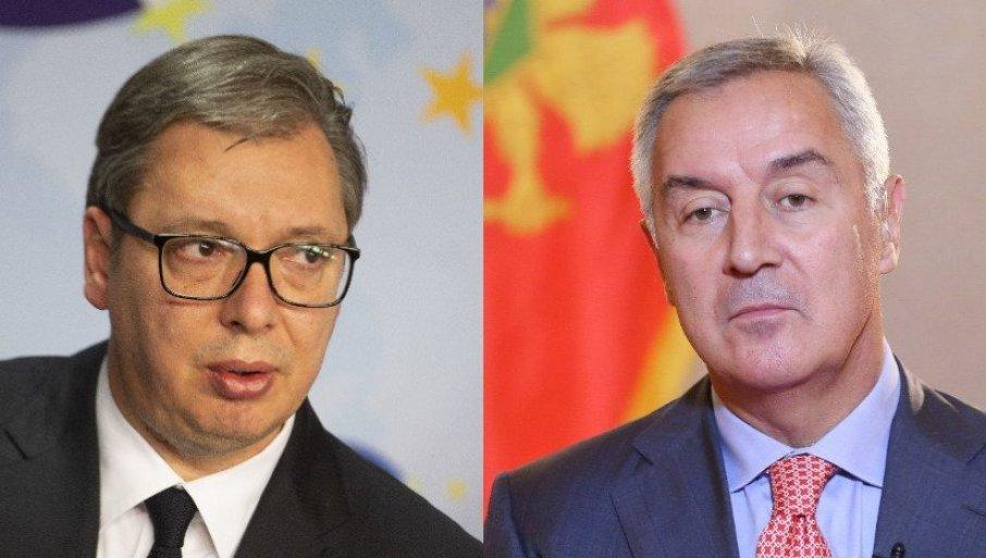 ĐUKANOVIĆ JE INSISTIRAO NA OVOJ REČENICI: Vučić otkrio šta je tražio predsednik Crne Gore