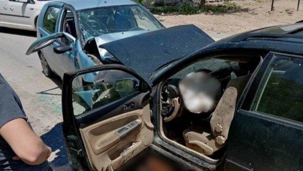 ПРВА ФОТОГРАФИЈА САОБРАЋАЈНЕ НЕСРЕЋЕ КОД ТУТИНА: Слике ужаса - аутомобили уништени у чеоном судару (ФОТО)